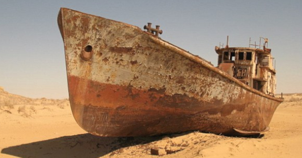 Ship reported missing in Bermuda Triangle 58 years ago found by nomads in middle of Sahara Desert