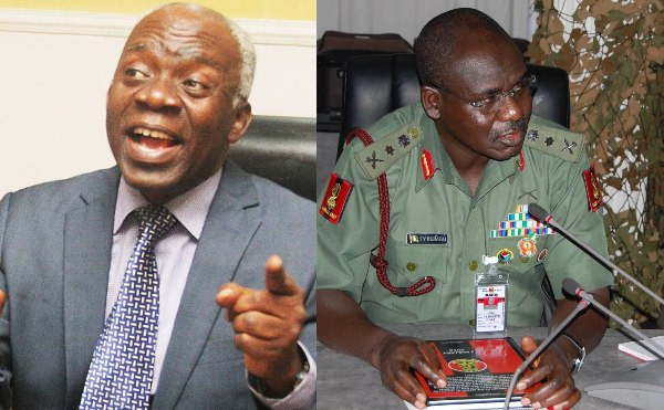 Buratai Asked for Igboho to be Handed Over to Him But Was Told Benin Republic Follow Rule of Law